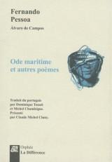 Ode maritime et autres poèmes [Poche]