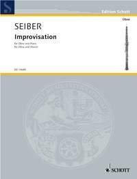 Improvisation - hautbois et piano - ED 10648