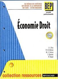 Economie droit deuxième bep metiers du secrétariat, comptabilite, action marchande