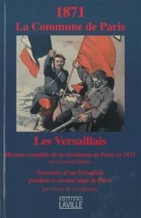 1871 La Commune de Paris : Les Versaillais