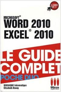 Word 2010 et Excel 2010