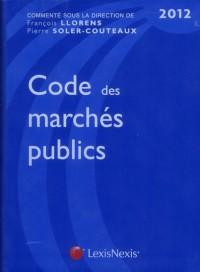 Code des marchés publics 2012