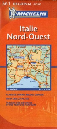 Italie Nord-Ouest : 1/400 000
