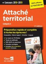 Concours Attaché territorial - Catégorie A - Préparation rapide et complète à toutes les épreuves ! - Concours 2018