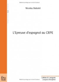 L'Epreuve d'espagnol au CRPE