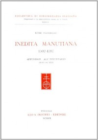 Inedita Manutiana 1502-1597