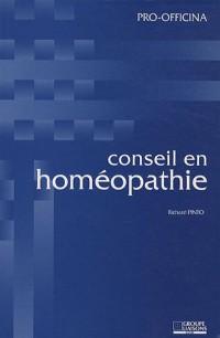 Conseil en Homéopathie