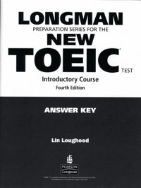 LONGMAN NEW TOEIC TESTINTRODUCTORY COURSE