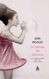 Couverture du livre La tristesse des éléphants
