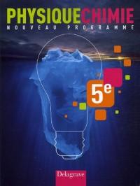 Physique Chimie 5e : Nouveau programme