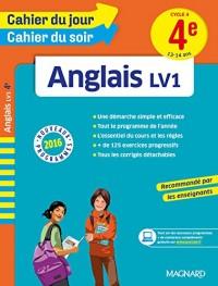 Cahier du jour/Cahier du soir Anglais 4e - Nouveau programme 2016
