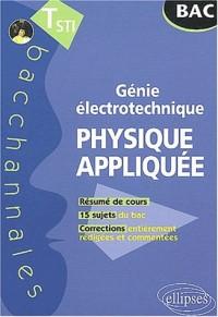 Physique appliquée Terminale STI : Génie électrotechnique