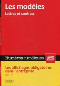 Les Modeles Lettres et Contrats