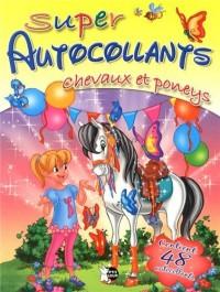 Chevaux et poneys suepr autocollants