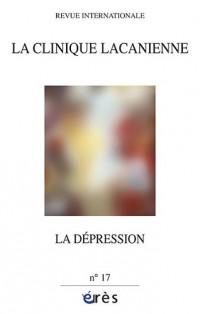La clinique lacanienne, N° 17 : La depression