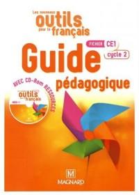Les nouveaux outils pour le français Fichier CE1 : Guide pédagogique (1Cédérom)