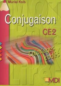 Coloriages codés Conjugaison CE2