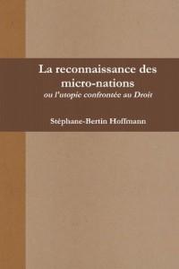 La reconnaissance des micro-nations