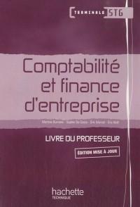 Comptabilité et finance d'entreprise Term. STG - Livre professeur+CD - Ed.2010