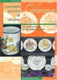 Comment peindre et décorer la céramique et la porcelaine