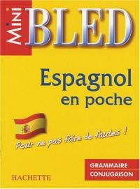 Espagnol en poche