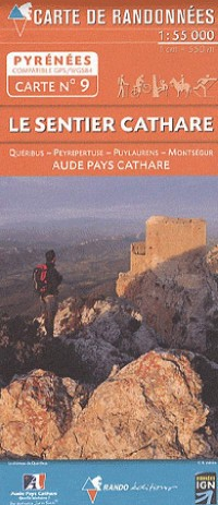 Le Sentier Cathare  1/55.000