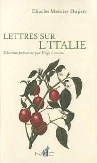 Lettres sur l'Italie