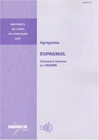 Agrégation espagnol : Concours interne et CAERPA