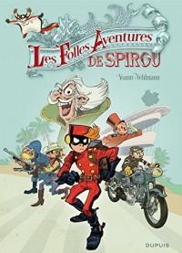 Spirou et Fantasio - Hors-série - tome 5 - Les Folles Aventures de Spirou