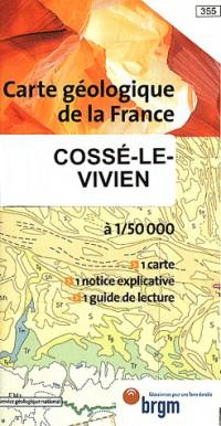 Carte géologique : Cossé-le-Vivien