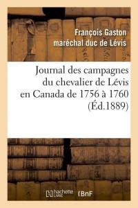 Journal des Campagnes en Canada  ed 1889
