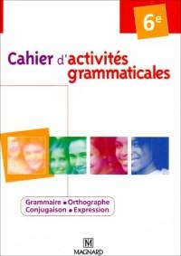 Cahier d'activités grammaticales 6e