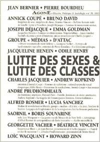Agone, numéro 28 : Lutte des sexes, luttes des classes