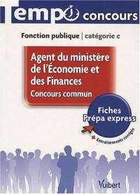 Agent du ministère de l'Economie et des Finances : Concours commun, Fonction publique catégorie C