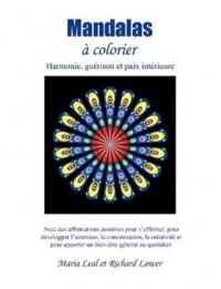 Mandalas A Colorier; confiance en soi ; pour développer la confiance en soi et l'estime de soi