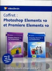 Coffret : Adobe Photoshop Elements 10 et Premiere Elements 10 - la Video et la Retouche d'Images Pou