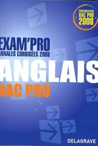 Anglais Bac Pro : Annales corrigées