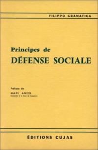 Principes de défense sociale