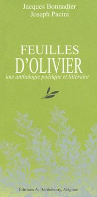 Feuilles d'olivier : Une anthologie poétique et littéraire