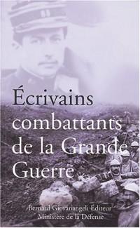 Écrivains combattants de la Grande Guerre