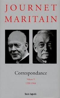 Correspondance : Volume 5, 1958-1964