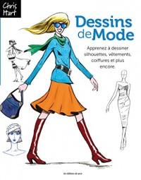 Design de Mode : Apprenez à dessiner silhouettes, vêtements, coiffures et plus encore