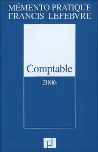 Comptable : Edition 2006
