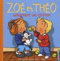 Zoé et Théo adoptent en chaton