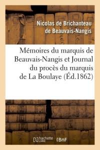 Memoires du Mis de Beauvais Nangis  ed 1862