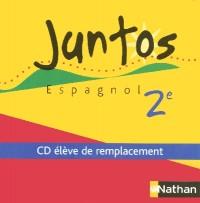 JUNTOS 2E CD AUDIO ELEVE DE REMPLACEMENT Livre scolaire