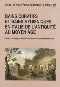 Bains curatifs et bains hygiéniques en Italie de l'Antiquité au Moyen Age