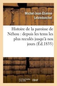 Histoire de la Paroisse de Nehou  ed 1835