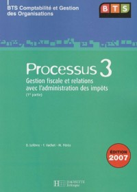 Processus 3 BTS CGO : Gestion fiscale et relations avec l'administration des impôts (1re partie)