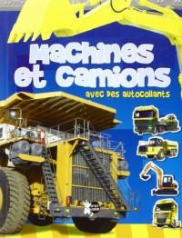 Machines et Camions avec des Autocollants (Images avec Autocollants)